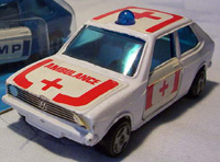 metalcar ambulance blanche (white)